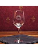 Boston College 16 oz. Wine Glass