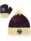 Boston College Toddler Hat and Mitten Set