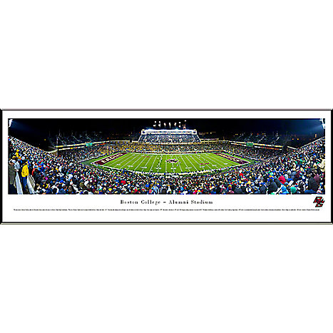 Product: Boston College Football 13.5''x40'' Print