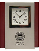 Boston College Desk Clock