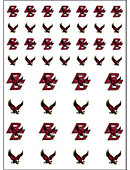 Boston College Eagles 50-Count Stickers 2-Sheet