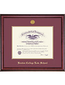 Boston College Law School 14'' x 17'' Classic Law Diploma Frame