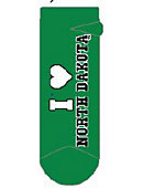 University of North Dakota Women's No Show Socks