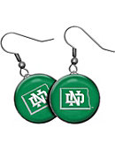 University of North Dakota Domed Earrings