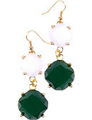 University of North Dakota Lexi Statement Earrings