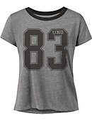 University of North Dakota Women's Cropped Short Sleeve T-Shirt