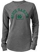 University of North Dakota Women's Sarah Waffle Long Sleeve T-Shirt