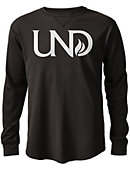 University of North Dakota Watch Hill Waffle Long Sleeve T-Shirt