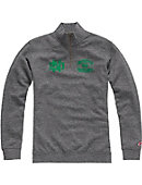 University of North Dakota Tri-Blend 1/4 Zip Fleece Pullover