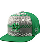University of North Dakota Flatbill Christmas Snapback Cap