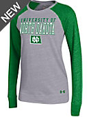 University of North Dakota Women's Crewneck Baseball T-Shirt