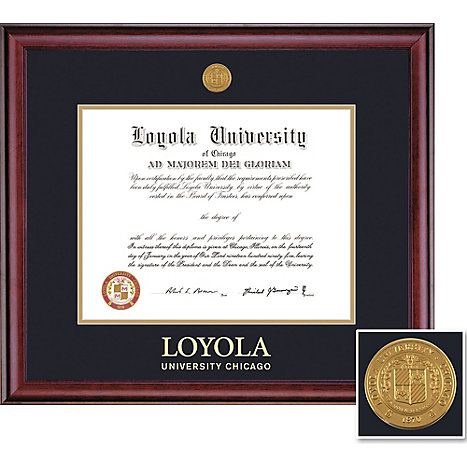 Product: Loyola University Chicago 11'' x 14'' Classic Diploma Frame