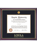 Loyola University Chicago 11'' x 14'' Windsor Diploma Frame