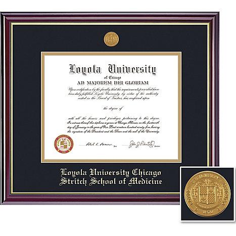 Loyola University Chicago 14 X 17 Windsor Diploma