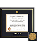 Loyola University Chicago Coronado BA/MA (1/07 To Pres) Diploma Frame -ONLINE ONLY