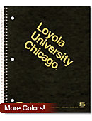 Loyola University Chicago 200 Sheet 5 Subject Notebook