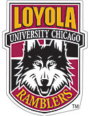 Loyola University Chicago Ramblers 4''x4'' Magnet