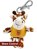 Loyola University Chicago Plush Keychain