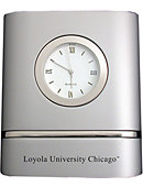 Loyola University Chicago Trillium Desk Clock