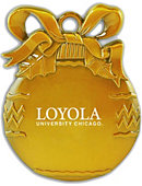 Loyola University Chicago Ornament