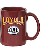 Loyola University Chicago Dad El Grande Medallion Mug