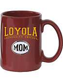 Loyola University Chicago Mom El Grande Medallion Mug