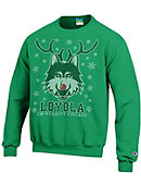 Loyola University Chicago Ramblers Ugly Sweater Crewneck Sweatshirt