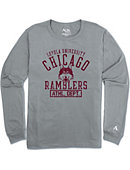 Loyola University Chicago Ramblers Long Sleeve Athletic Fit T-Shirt