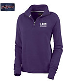 LIM The College for the Business of Fashion Women's 1/4 Zip Fleece