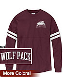 Loyola University New Orleans Wolf Pack Women's Ra Ra T-Shirt