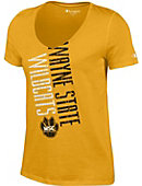 Wayne State College Women's V-Neck T-Shirt