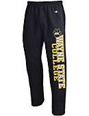 Wayne State College Wildcats Open Bottom Sweatpants