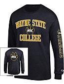 Wayne State College Wildcats Long Sleeve T-Shirt