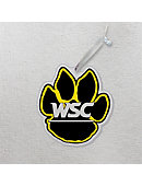 Wayne State College Wildcats 3'x4' Glass Ornament