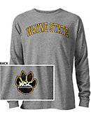 Wayne State College Wildcats Long Sleeve Victory Falls T-Shirt