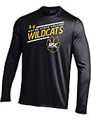 Wayne State College Wildcats Long Sleeve Tech T-Shirt