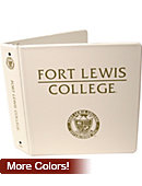 Fort Lewis College 2'' Vinyl Binder