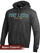 Fort Lewis College Hooded Sweatshirt