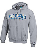 Fort Lewis College Skyhawks Full Zip Hooded Sweatshirt
