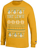 Fort Lewis College Ugly Sweater Long Sleeve T-Shirt