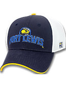 Fort Lewis College Stretch Fitted Micro Mesh Cap