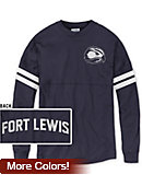Fort Lewis College Skyhawks Women's Ra Ra T-Shirt