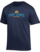 Fort Lewis College Football T-Shirt