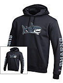 SUNY Suffolk County Community College - Grant Sharks Hooded Sweatshirt