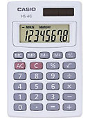 CALCULATOR HS4GS CASIO BASIC HANDHLD