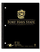 Fort Hays State University Tigers 100 Sheet Notebook