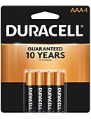 BATTERY 4PACK AAA DURACELL
