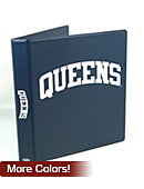 Queens University of Charlotte 1 ' Vinyl Binder