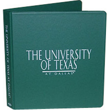 Product: The University of Texas at Dallas 1'' Binder