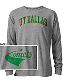 The University of Texas at Dallas Comets Long Sleeve Victory Falls T-Shirt